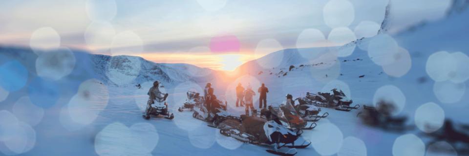 Новогодние однодневные снегоходные туры